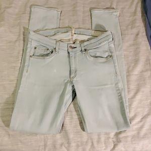 Rag and Bone Skinny Jeans in White Water 30